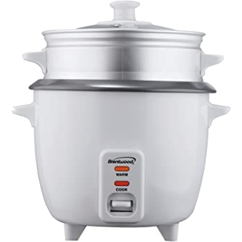 Brentwood TS-600S Stainless Steel Rice Cooker
