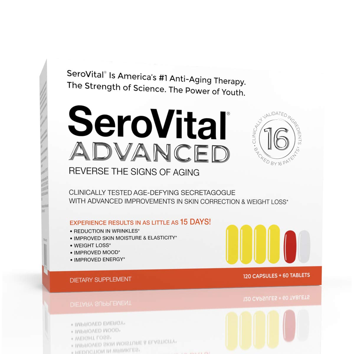 Serovital Advanced, 30-Day Supply