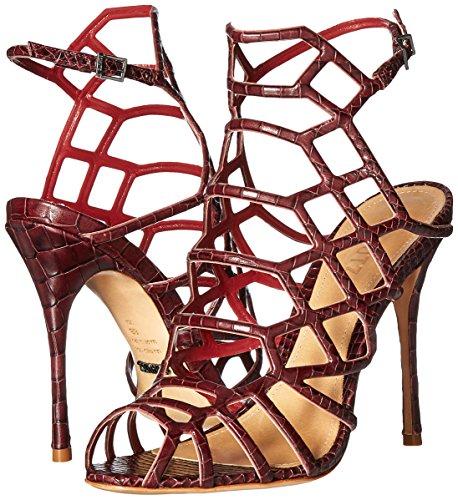 Dress Red Women's Sandal Juliana Wine Schutz wTPBqSnx