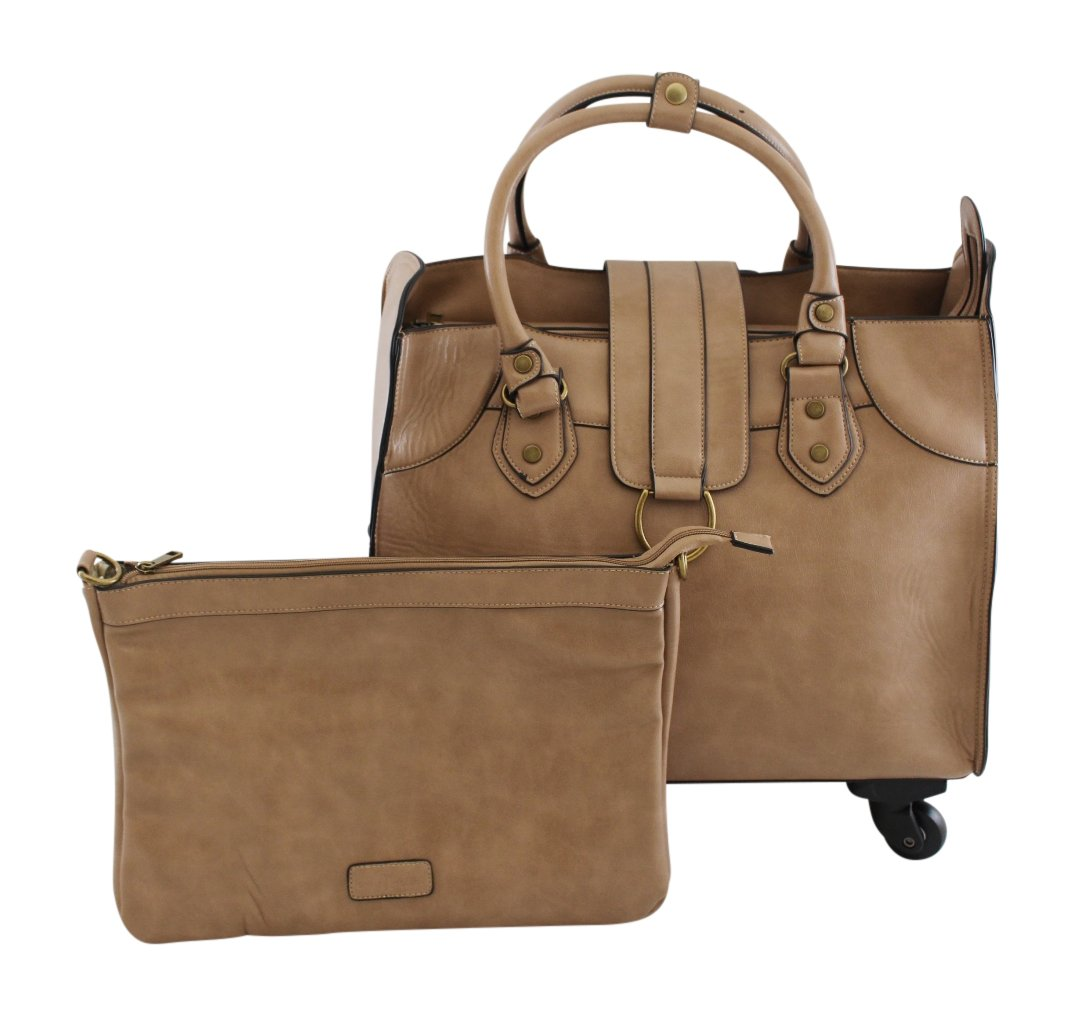Simply Noelle Saddle Roller Bag, Birch