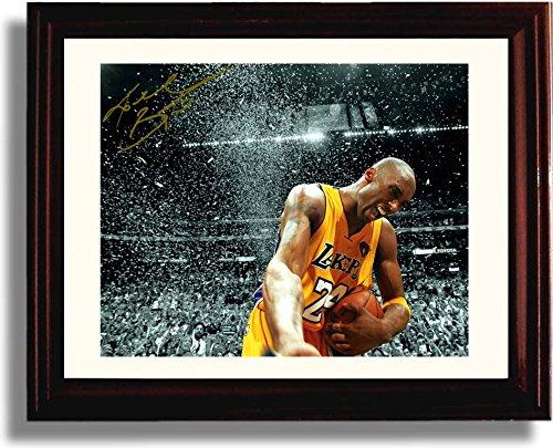 Framed Kobe Bryant