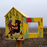 Little free library. Lending library. Neighborhood library. Outdoor | Ready to ship. Unique art. Comfortable large size