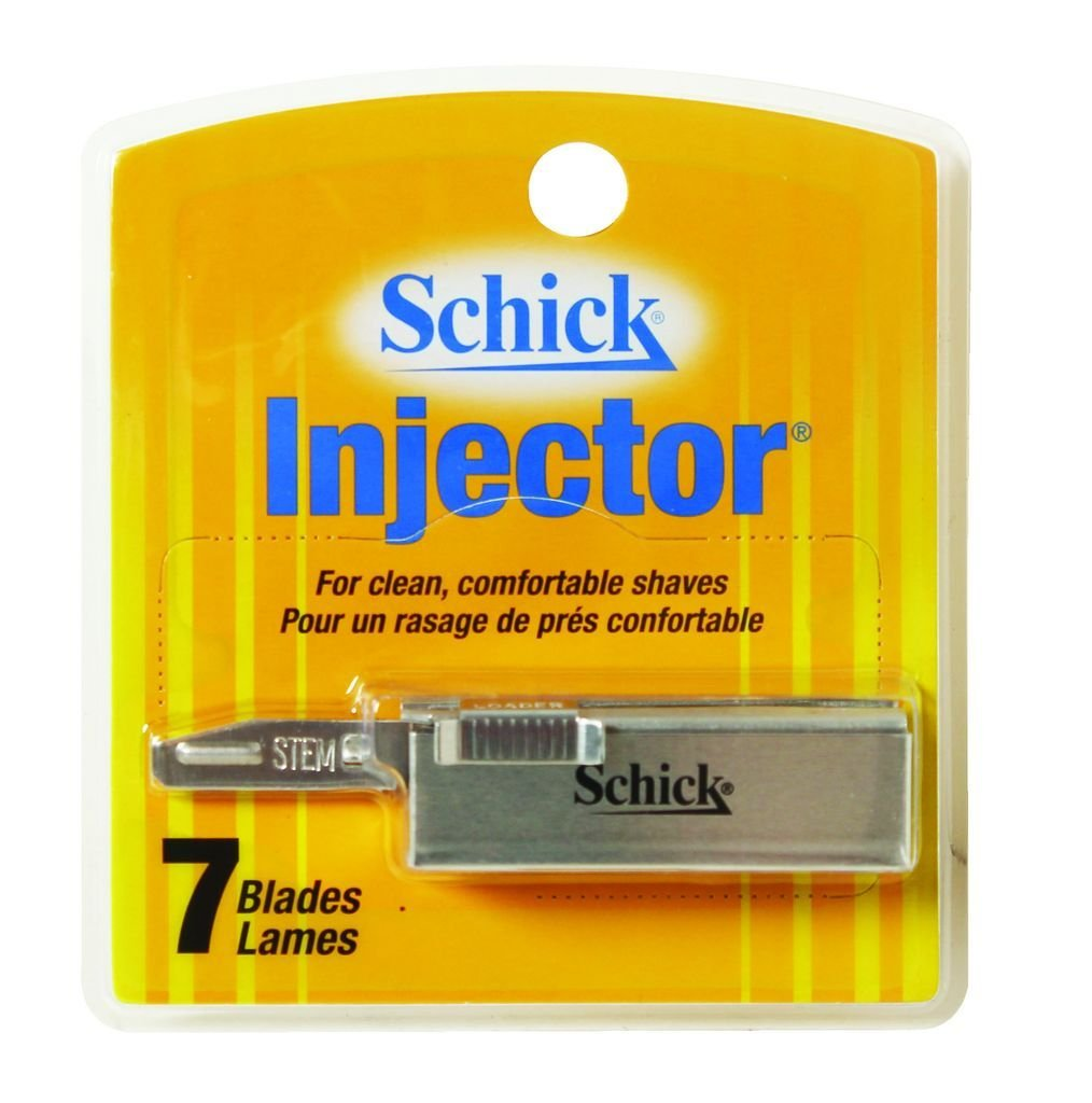 Schick Injector Razor Refill Blades, 7 Counts (6 Pack) EDGEWELL PERSONAL CARE