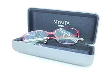 a7dcd1f7de9 Amazon.com  New MYKITA Eyeglasses NO.1 PAREN Red Frame Handmade ...