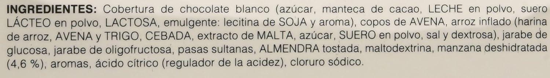 Obegrass Barrita Saciante Entrehoras, Manzana y Yogurt - 20 Unidades ...