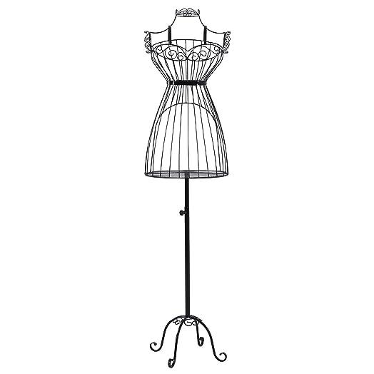 Songmics new Garment rack Clothes rail Hanger Dress form Mannequin ...