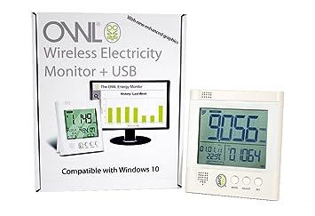 Owl CM160 - Medidor de Consumo eléctrico con USB inalámbrico: Amazon.es: Informática