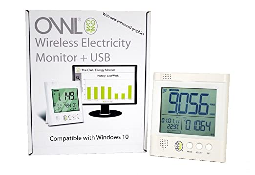 22 opinioni per Owl USB Wireless Electricity Monitor