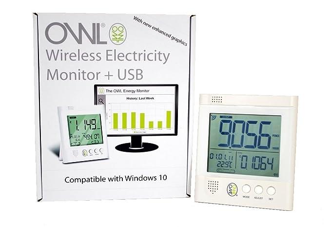 Owl CM160 - Medidor de Consumo eléctrico con USB inalámbrico ...