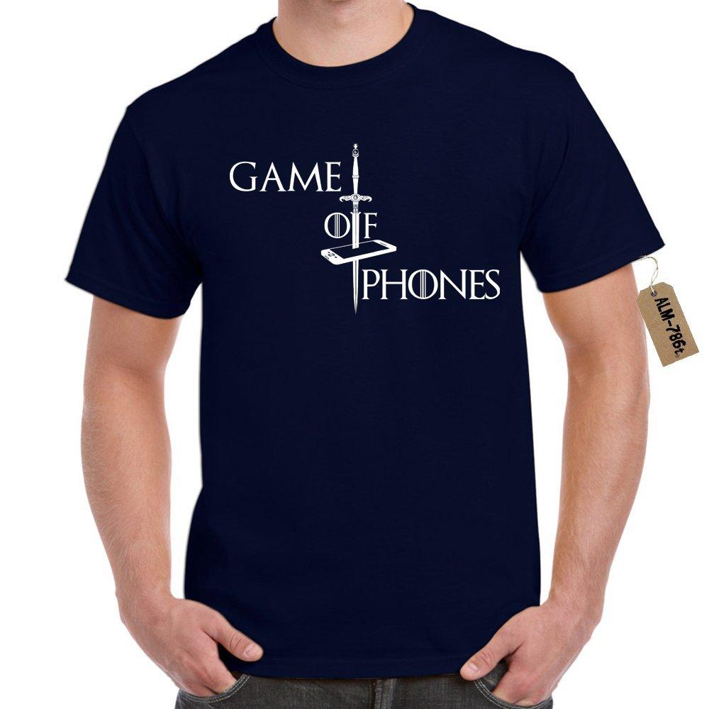 Herren t-shirt Game Of Phones-Game OF Thrones Style lustige shirts ...