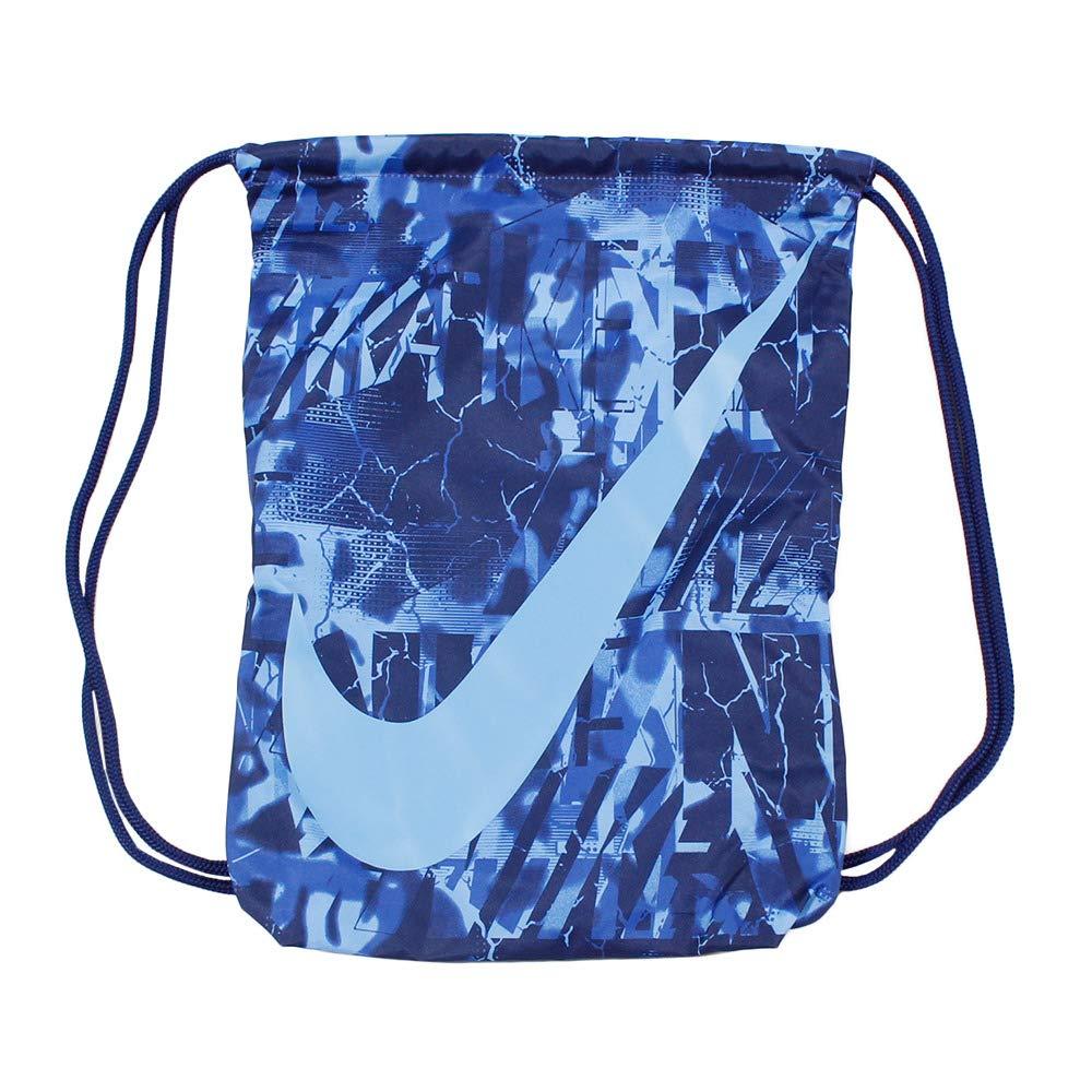 Amazon.com | Nike YA Graphic Gym Sack Game Royal/Blue Boyd ...