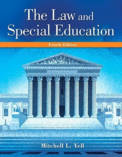 Law and Special Education, The, Enhanced Pearson eText with Loose-Leaf Version -- Access Card Package (4th Edition) by Mitchell L. Yell (2015-04-05)