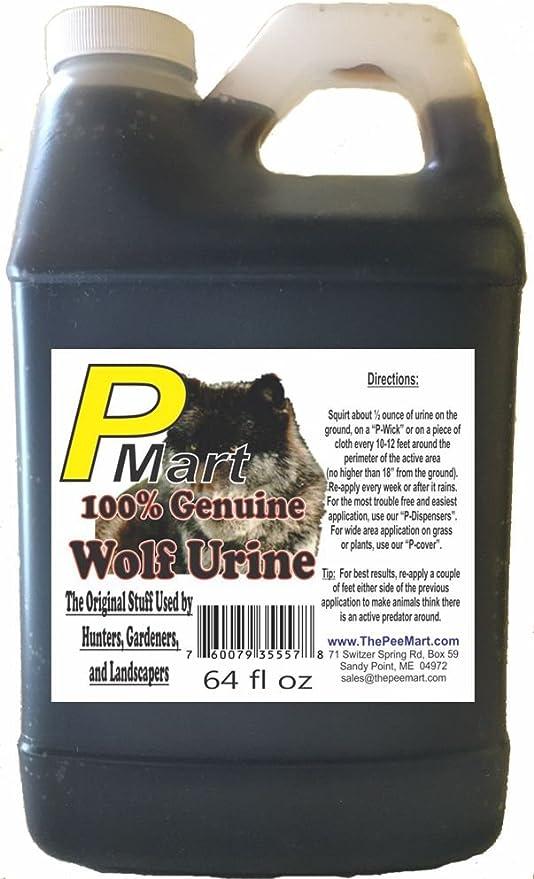 Amazon.com: El Pee Mart – Wolf orina 64 oz Bulk Filler ...