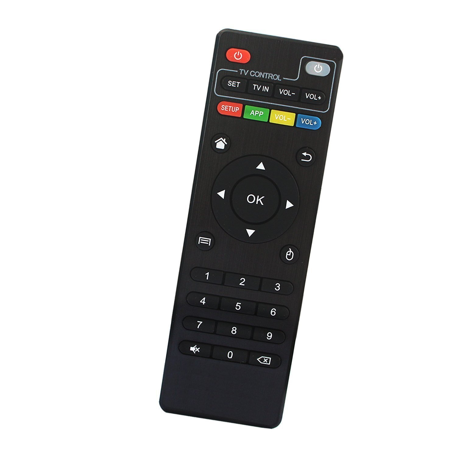TV Box Remote Control Replacement IR Controller Only for T95Z Plus, T95K PRO, T95V PRO, T95U PRO, T95W PRO, QBox Andriod TV Box D5/D32 Smart Set Top Media Player