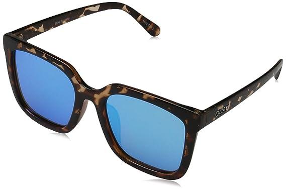 Quay Eyewear Unisex-Erwachsene Sonnenbrille Genesis, Schwarz (Black/Green), 150