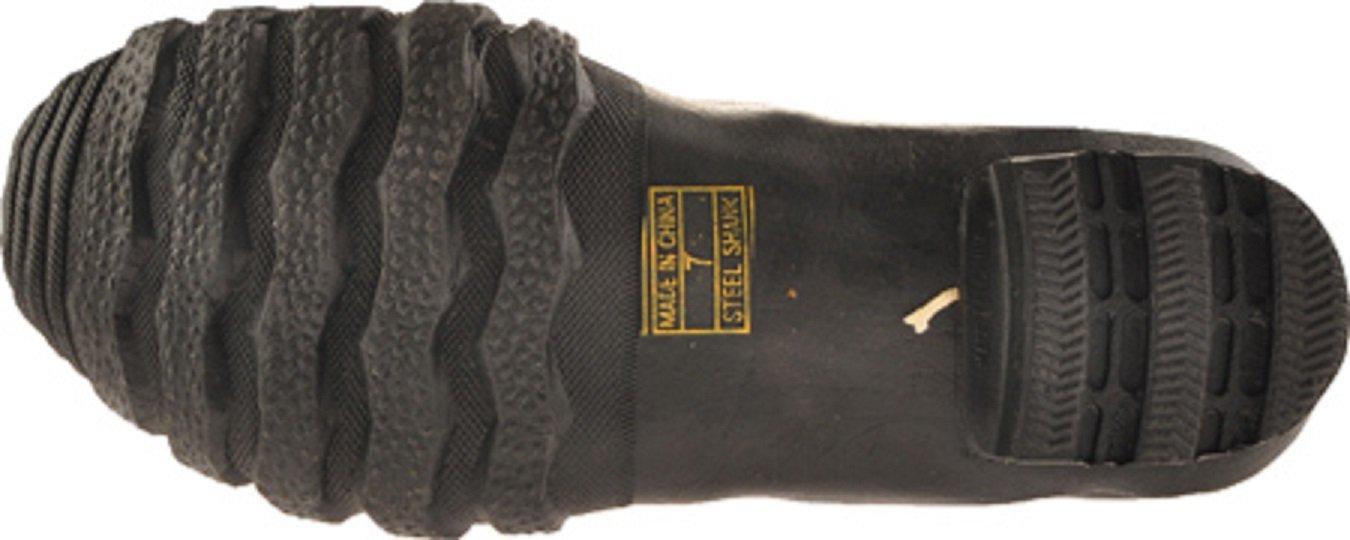 Herco Heavy Duty Rubber Steel Toe Hip Waders - Men's Size 12 (Black) by Unknown (Image #3)