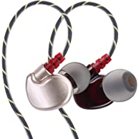 Everycom Xtreme True Sports Earphones with in-Line Mic for All 3.5mm Jack Devices(Gold)