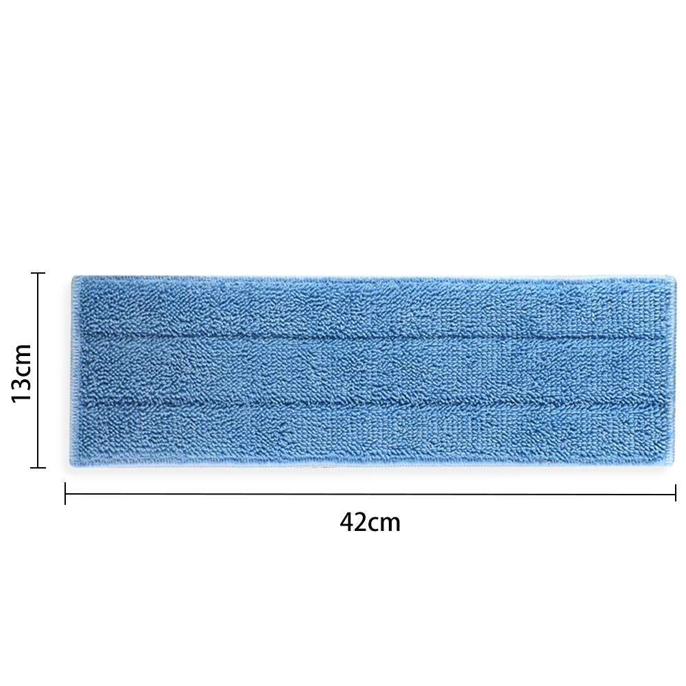 4 Pezzi Panni Ricambio in Microfibra per Polti MOPPY