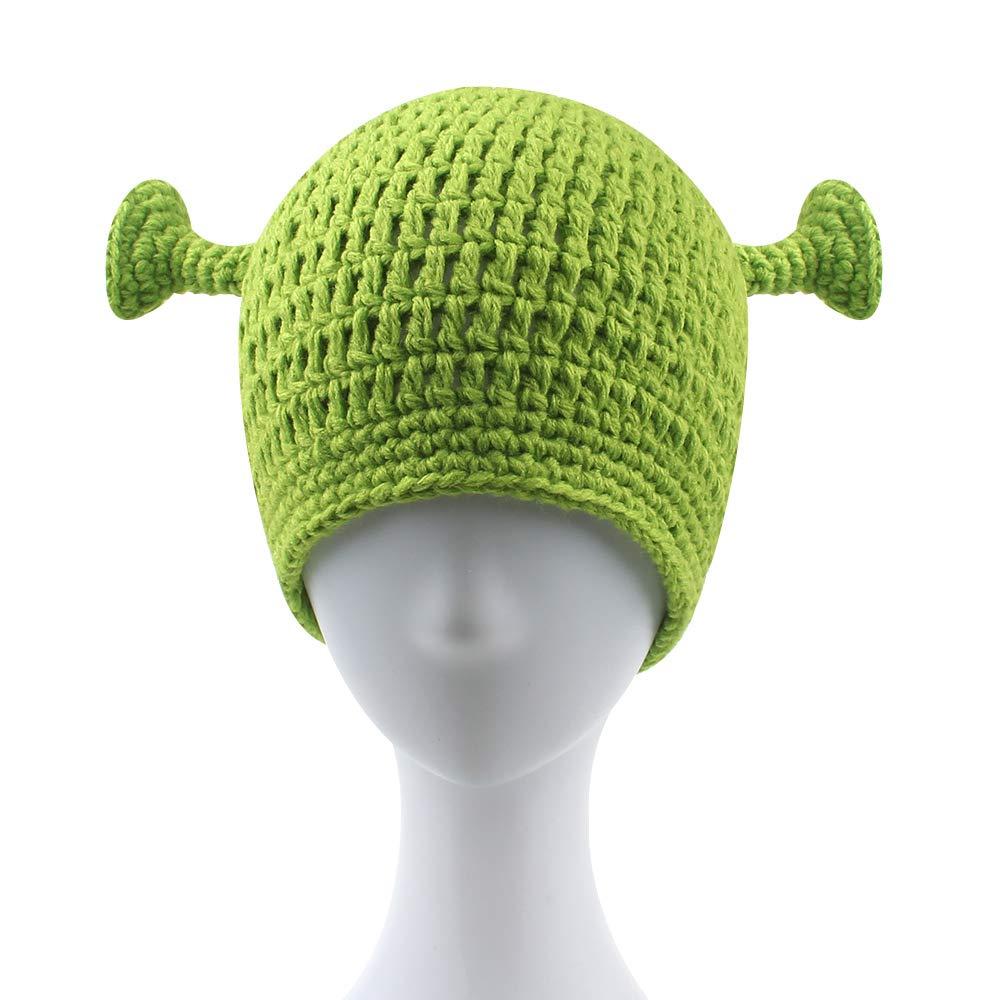 Europax Shrek Hat for Funny Men Prank Children Xmas Gift