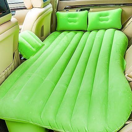 Cama inflable portátil para auto, colchón de aire de asiento ...