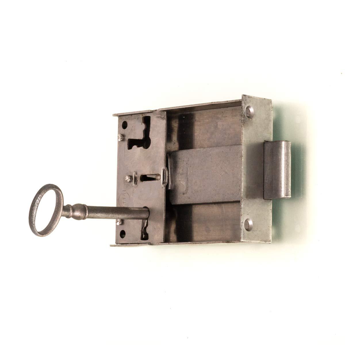 Antikas - cerradura 92x63 espiga 70mm - cerradura para ...