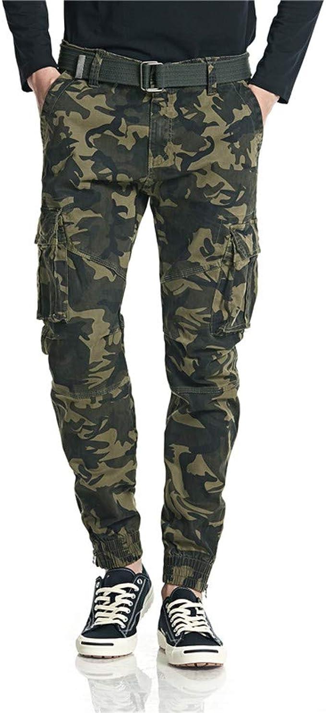 Super FRAUIT Pantaloni Cargo Uomo Slim Fit Invernali Militari Plus Size ST16
