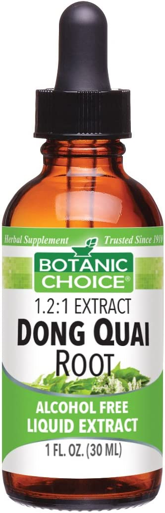 Botanic Choice Dong Quia Root Alcohol Free Liquid Extract, 1 Fluid Ounce Pack of 2