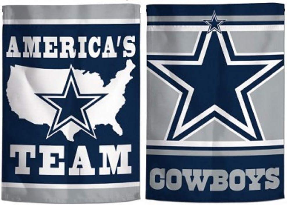 """WinCraft Dallas Cowboys 2 Sided Team Slogan Garden Flag 12.5"""" X 18"""""""