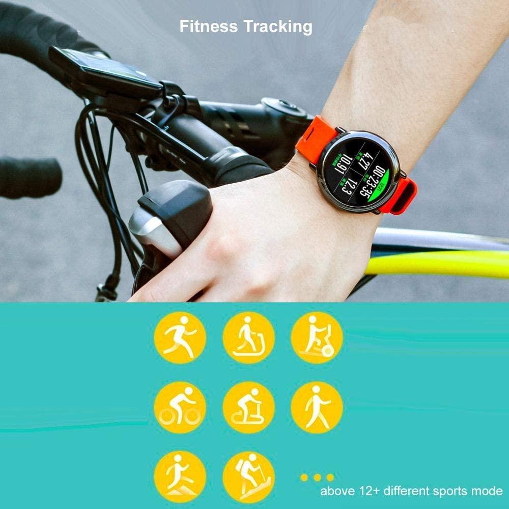 Amazon.com: Amazfit A1612R Pace GPS Running Smartwatch, Red ...