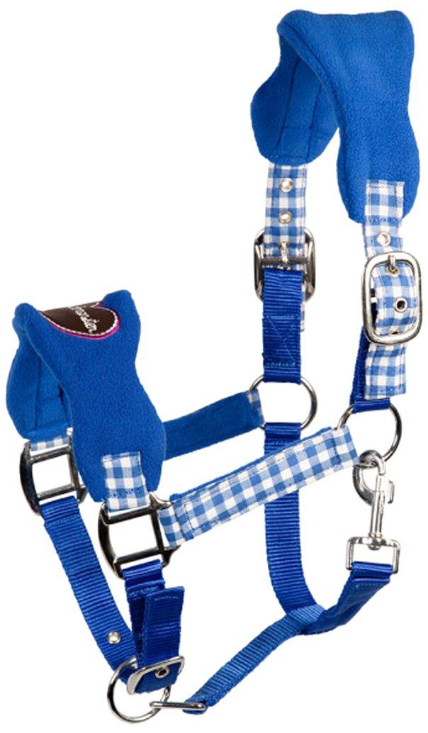 blau//lila L Rot//Blau 102433-219-Full Wiesn PFIFF 102433-149-Cob Kunststoffhalfter Pferdehalfter Vollblut M