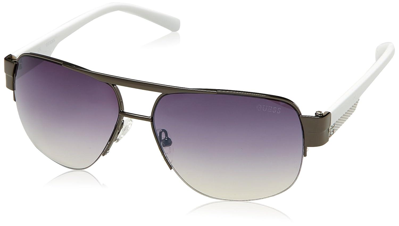 TALLA 60. GUESS Guf126, Gafas de Sol para Hombre