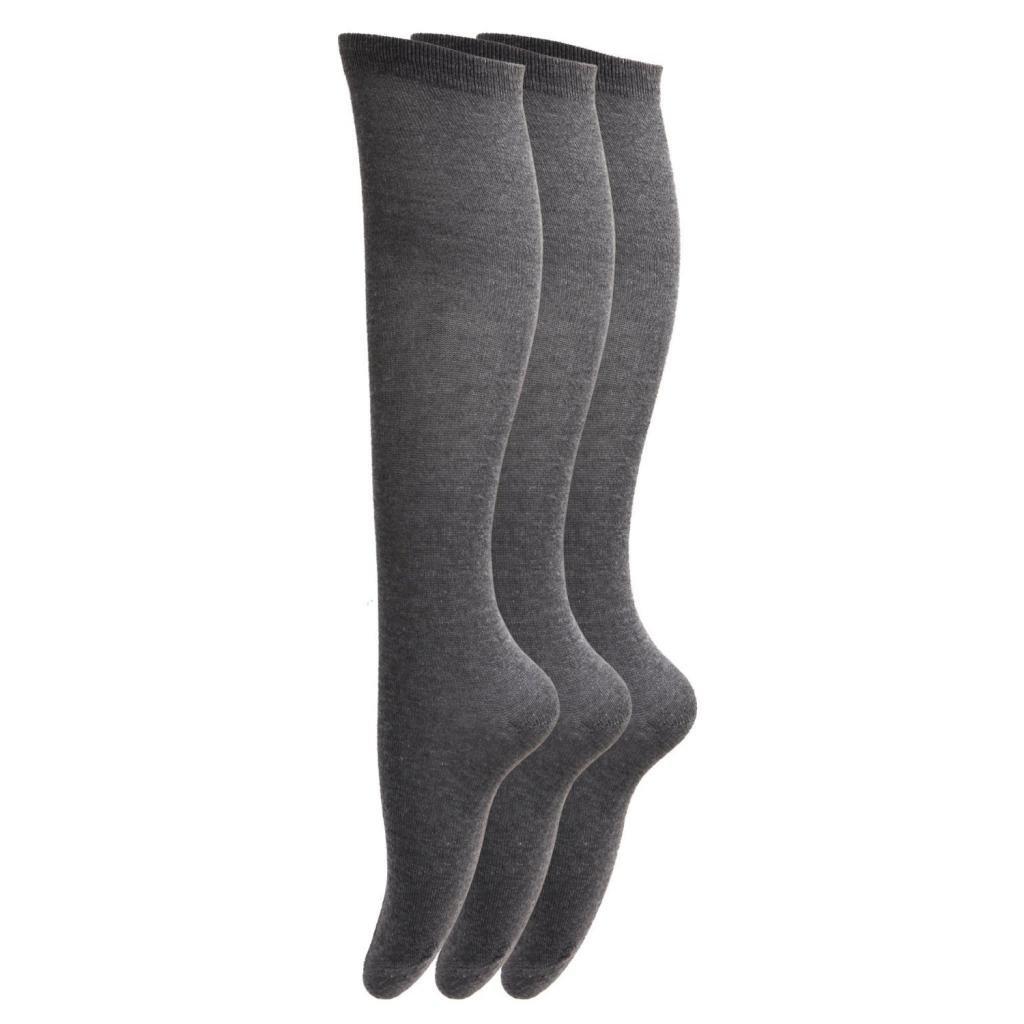 HDUK Ladies Socks 6/paia di calze al ginocchio da donna taglia EUR 37/ in cotone e lycra /40