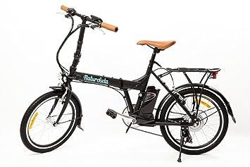Bicicleta eléctrica plegable NATURCLETA FLEX PLUS