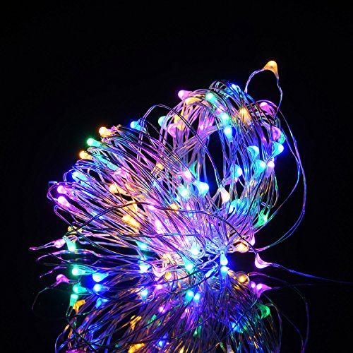 360 Multi Coloured Led Christmas Lights in US - 9