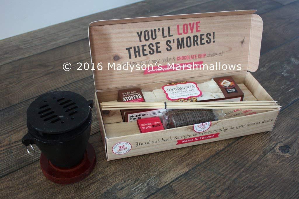 Gourmet Smores Kit - Chip de chocolate relleno de marismas ...