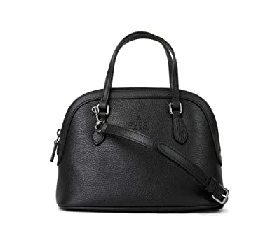 950f839028a Amazon.com  Gucci Women s Black Leather Small Cross Body Dome Bag With  detachable Strap 341504 1000  Shoes