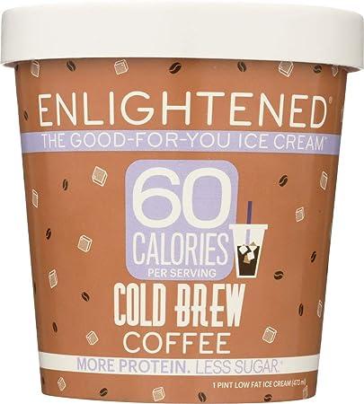 Enlightened Cold Brew Coffee Ice Cream Pint 16 Fl Oz Frozen