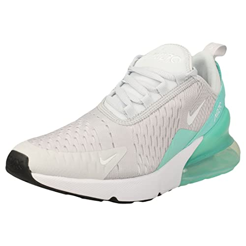 Zapatillas Nike - Air Max 270 (GS) Plateado/Blanco/Verde Talla: 35,5: Amazon.es: Zapatos y complementos