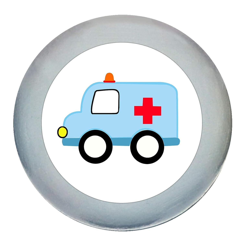 T/ürknaufKrankenwagen dunkelblau Holz Buche Kinder Kinderzimmer 1 St/ück Fahrzeuge Transportfahrzeuge Traum Kind