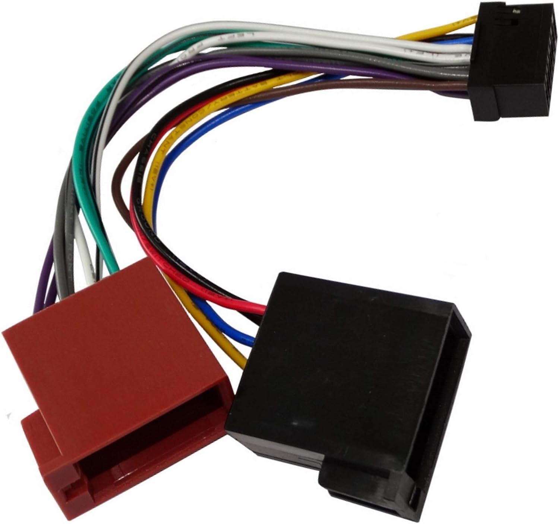 Aerzetix H5 Iso Konverter Adapter Kabel Radio Adapter Kabel Stecker Iso Kabel Kabel Für Panasonic Auto