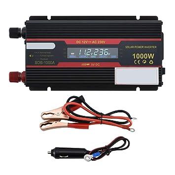 CAPTIANKN Inversor de la energía 1000W, C.C. 12V 24V a la CA 110V 220V,