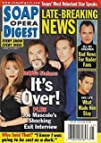 Renee Jones, Joseph Mascolo & Drake Hogestyn (Days of Our Lives) l Michael Nader l David Fumero l Annual Father's Day Issue - June 19, 2001 Soap Opera Digest