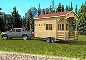 Allwood Pioneer | 171 SQF Tiny Home, Cabin Kit