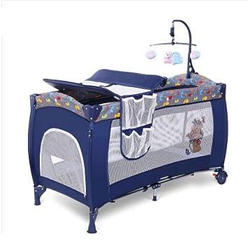amplificadores auditivos Cama de bebé Cama Plegable Multi-función portátil Juego de bebé Cuna Cama