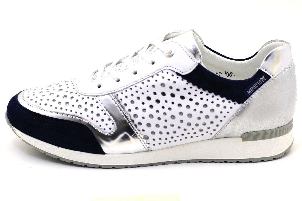 Mephisto Zapatos de Cordones Para Mujer 36 EU|añil