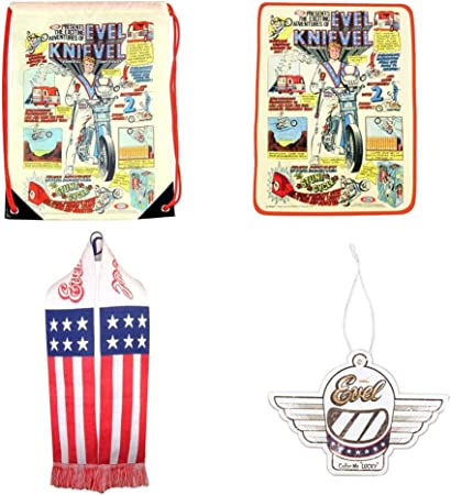 Evel Knievel Cinch Bag