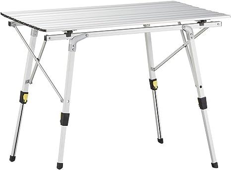 Uquip Variety M - Mesa para acampada, aluminio, 89 x 53cm, altura ...