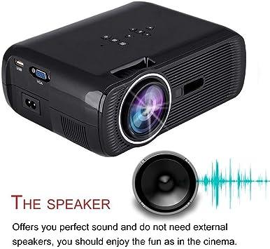 BL-80 - Mini proyector portátil (1000 lúmenes, Reproductor de ...