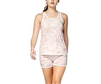 Willie Marlow Womens Sexy Pajamas Sets Shorts Sleeping Wear Pijamas for Women Sleeveless Pyjama Nightwear Button
