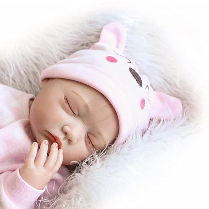 Amazon.com: Mandy Lifelike Reborn Baby Doll 55cm Newborn Doll Kids ...
